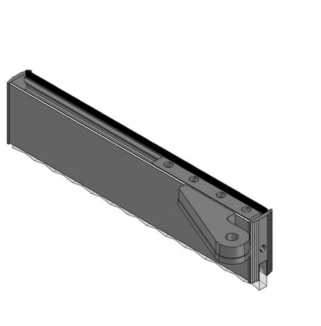 Thumbnail - Top Door Rail with Offset Pivot LH SSS