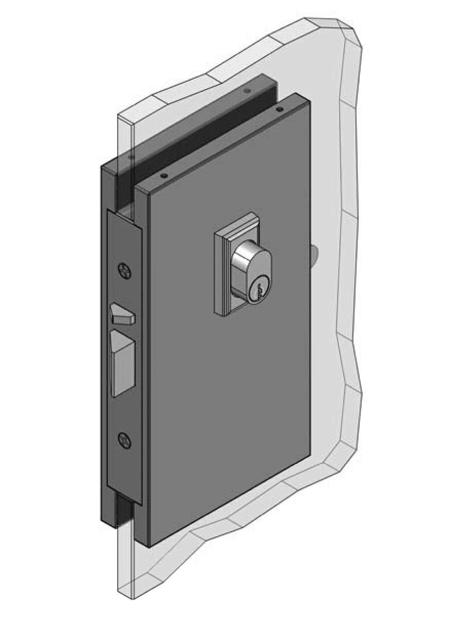 Thumbnail - Centre Mount Vestibule Egress Patch Lock SSS