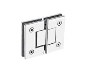 Thumbnail - Glass to Glass 180Deg Hinge Polished Stainless