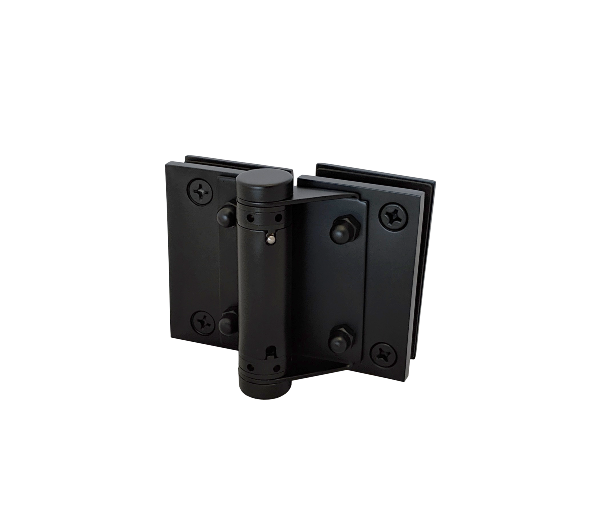 Thumbnail - Frameless Glass to Glass Hinge Pair BLK