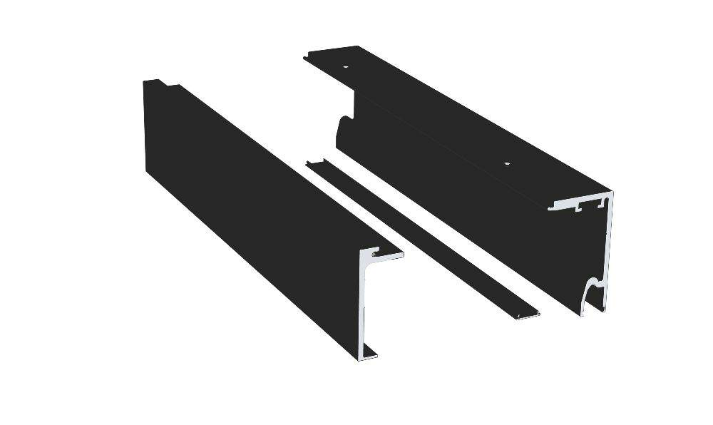 Thumbnail - SV-X70 Std Track w Fixed Panel, 5m BLK