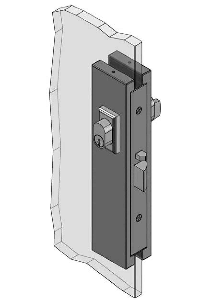 Thumbnail - Slimline Patch Lock 3580 type C/T SSS