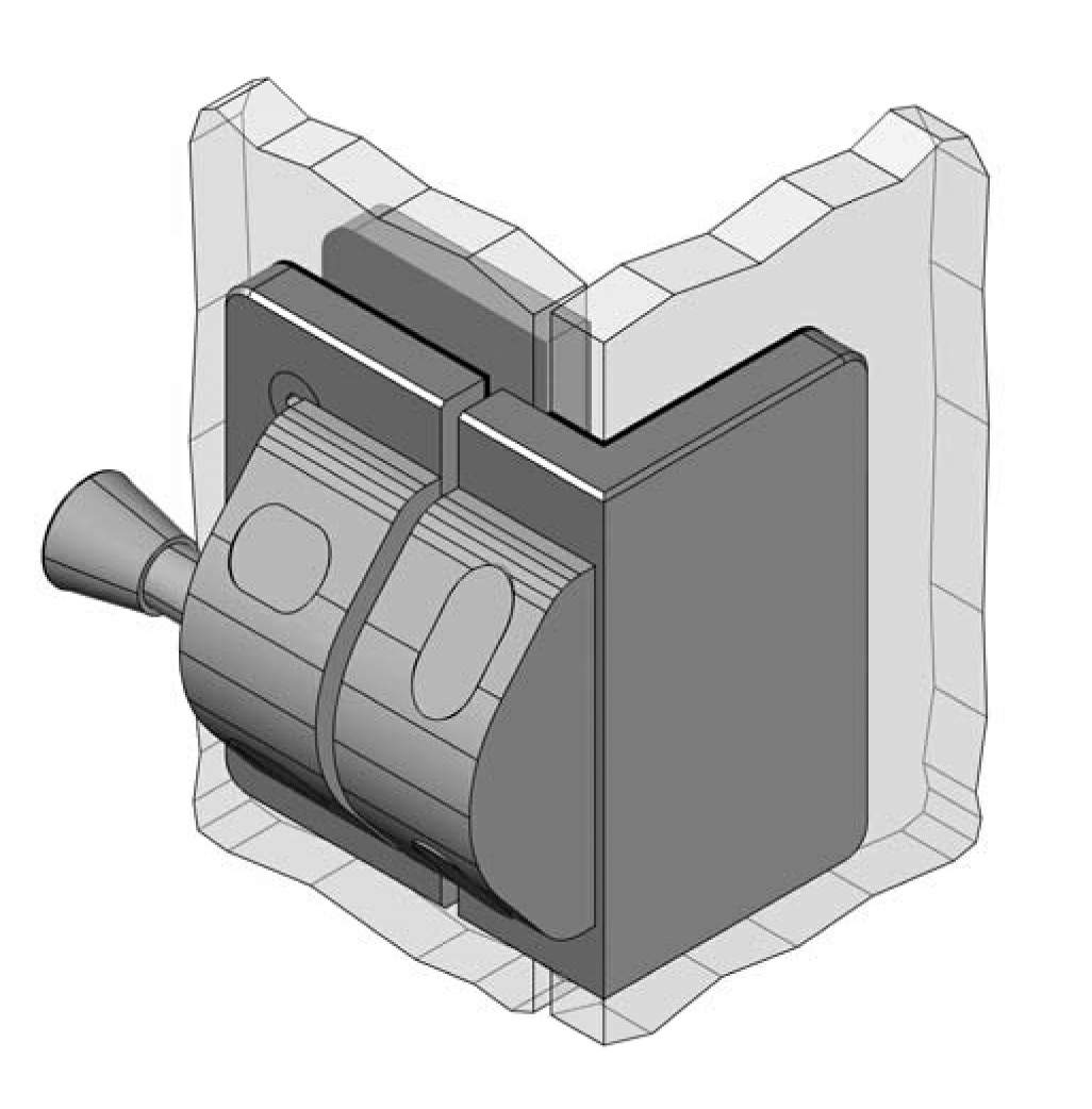 Thumbnail - Reversed Glass to Glass 90 Degree Pool Latch