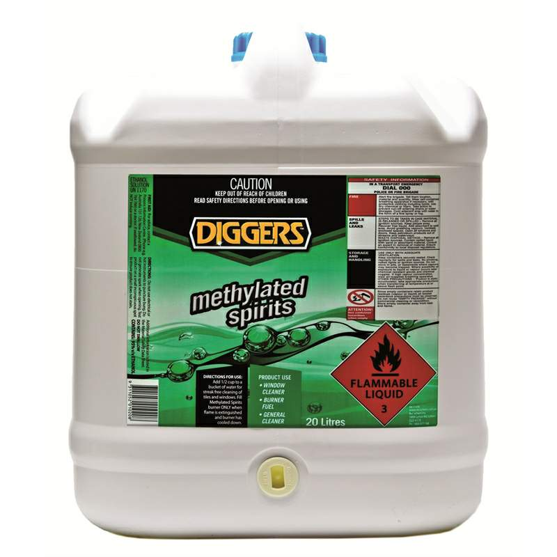 Thumbnail - Methylated Spirits 20 Litre