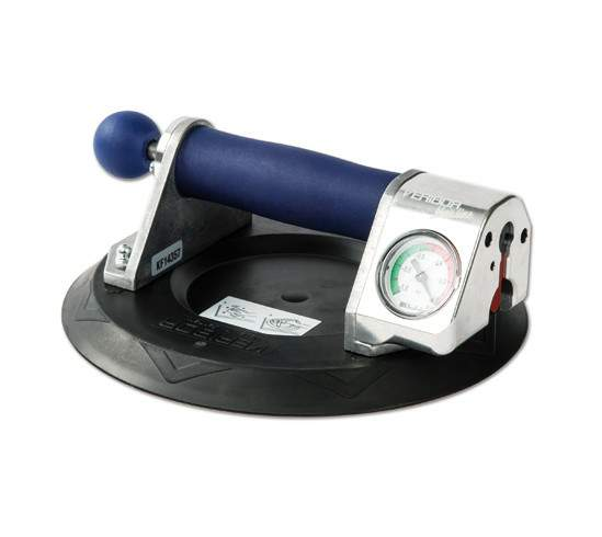Thumbnail - Bo 601.1Bl Veribor Blue Line Pump-Activated Suction Lifter With Pressure Gauge, In Case