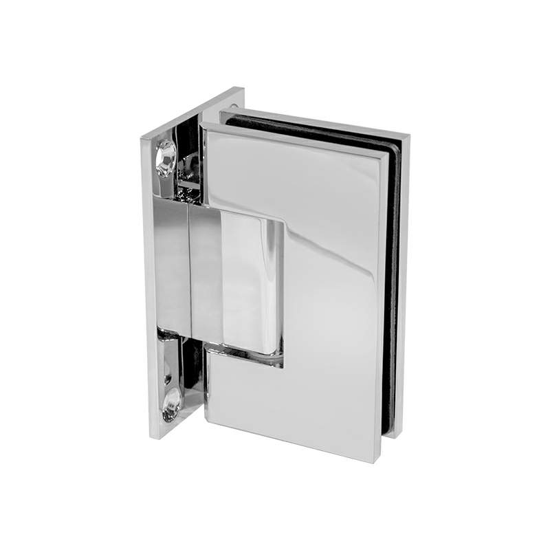 Thumbnail - Glass to Wall T-Shape 90 Degree Hinge Chrome